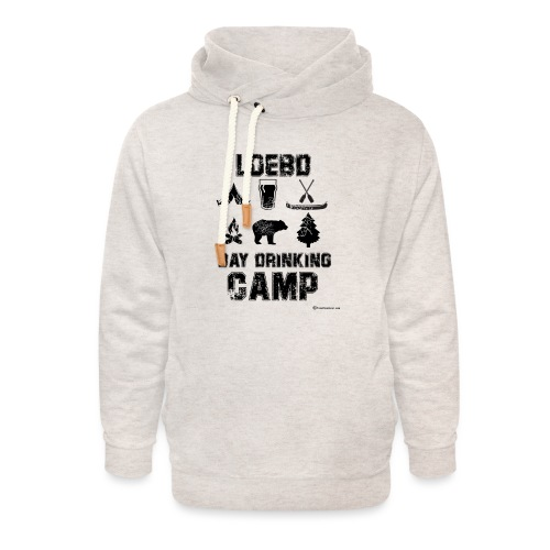 LOEBD Day Drinking Camp - Unisex Shawl Collar Hoodie