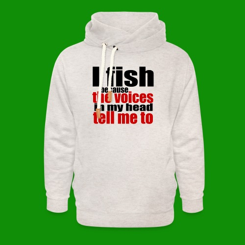 Fishing Voices - Unisex Shawl Collar Hoodie