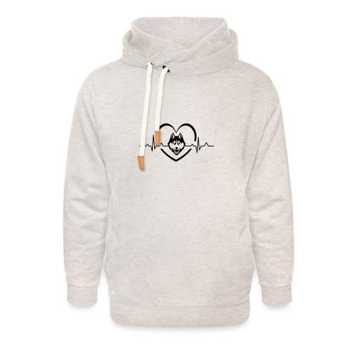 Love every beat for Husky T-Shirt - Unisex Shawl Collar Hoodie