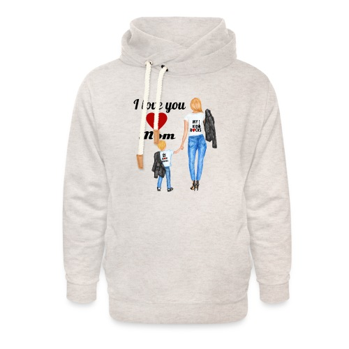 Mother's day gift from daughter, Mother's Day Gift - Unisex Shawl Collar Hoodie