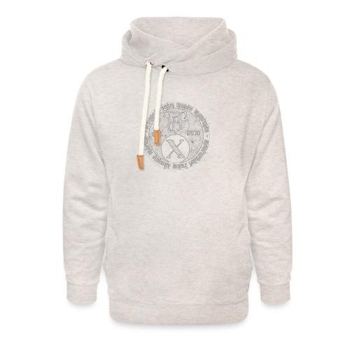 TCF 10th Anniversary (Grey) - Unisex Shawl Collar Hoodie