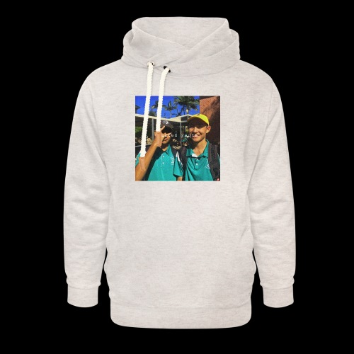 wasted youth. - Unisex Shawl Collar Hoodie
