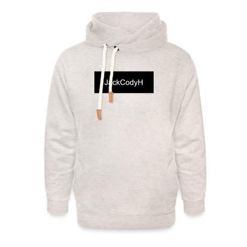 JackCodyH black design - Unisex Shawl Collar Hoodie