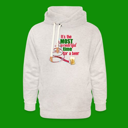 Most Wonderful Time For A Beer - Unisex Shawl Collar Hoodie