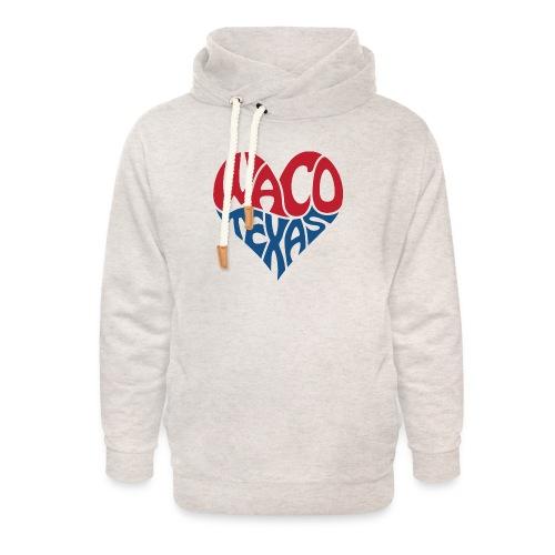 Heart of Waco Texas - Unisex Shawl Collar Hoodie