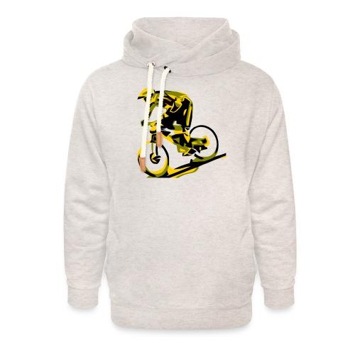 DH Freak - Mountain Bike Hoodie - Unisex Shawl Collar Hoodie