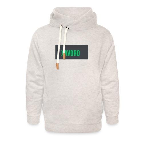 xavbro green logo - Unisex Shawl Collar Hoodie