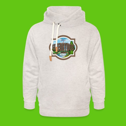 New FBD logo with words and clear background - Unisex Shawl Collar Hoodie