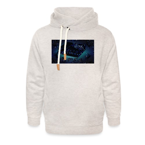 ps4 back grownd - Unisex Shawl Collar Hoodie