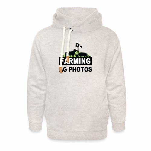 Farming Ag Photos - Unisex Shawl Collar Hoodie