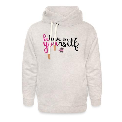 BE YOU shirt design w logo - Unisex Shawl Collar Hoodie