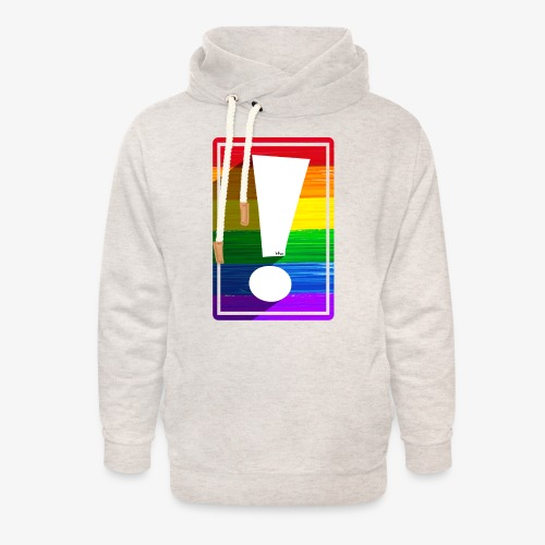 LGBTQ Pride Exclamation Point - Unisex Shawl Collar Hoodie