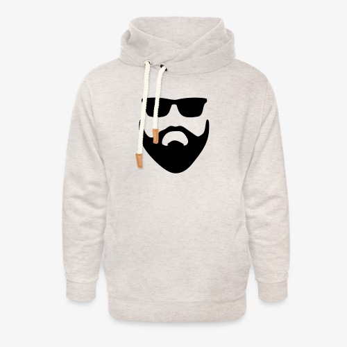 Beard & Glasses - Unisex Shawl Collar Hoodie