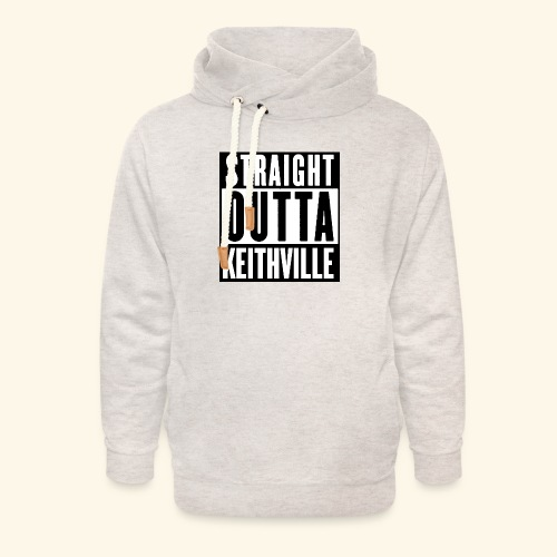 STRAIGHT OUTTA KEITHVILLE - Unisex Shawl Collar Hoodie