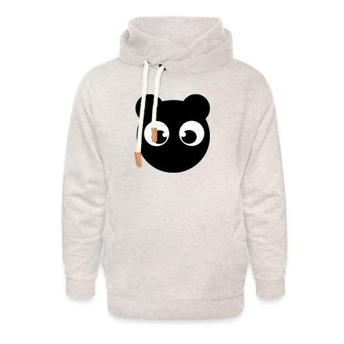 BearBun - Black - Unisex Shawl Collar Hoodie