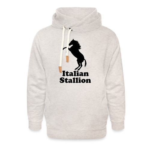 Italian Stallion - Unisex Shawl Collar Hoodie