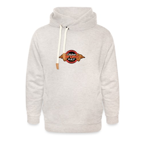Chicken Wing Day - Unisex Shawl Collar Hoodie