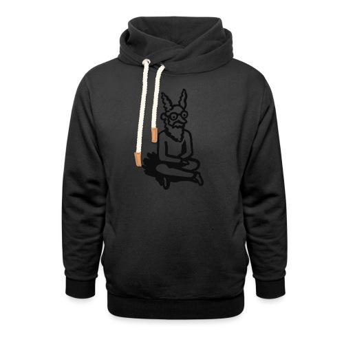 The Zen of Nimbus t-shirt / Black and white design - Unisex Shawl Collar Hoodie