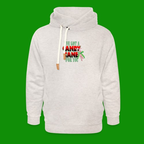Candy Cane - Unisex Shawl Collar Hoodie
