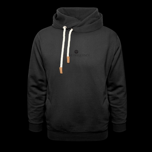 Black Divine Frequency - Unisex Shawl Collar Hoodie