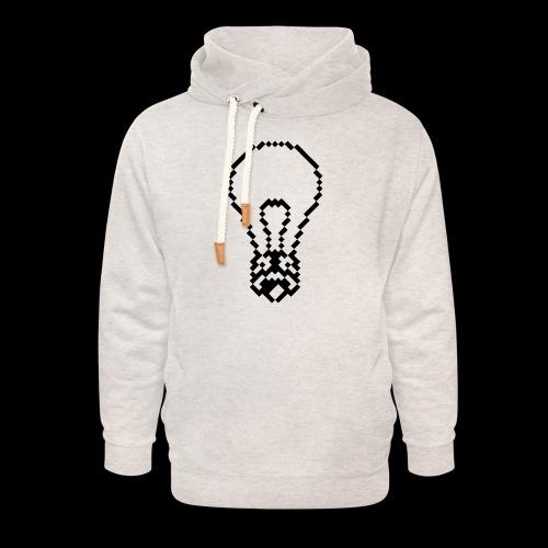 lightbulb by bmx3r - Unisex Shawl Collar Hoodie