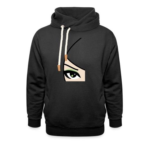 Banzai Chicks Single Eye Women's T-shirt - Unisex Shawl Collar Hoodie