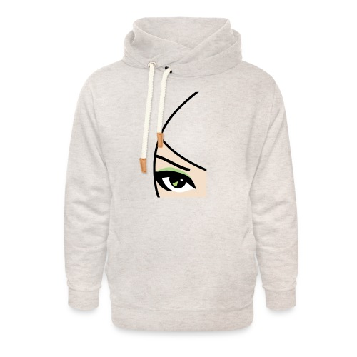 Banzai Chicks Single Eye Women's T-shirt - Unisex Shawl Collar Hoodie
