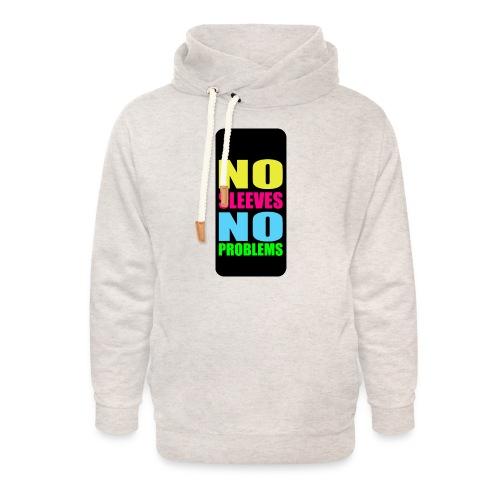 neonnosleevesiphone5 - Unisex Shawl Collar Hoodie