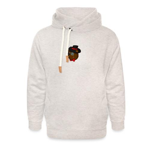 Bears in tophats - Unisex Shawl Collar Hoodie