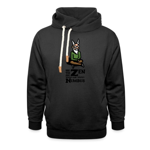 The Zen of Nimbus t-shirt / Nimbus color with logo - Unisex Shawl Collar Hoodie