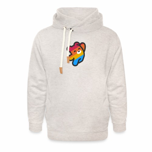 fire as life - Unisex Shawl Collar Hoodie