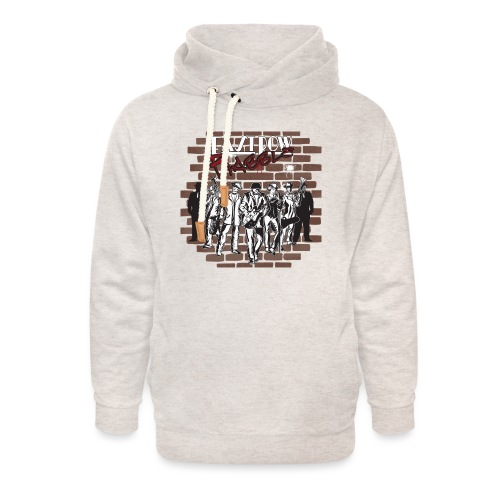 East Row Rabble - Unisex Shawl Collar Hoodie