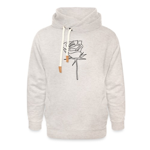 Dom Gooden Rose Selection - Unisex Shawl Collar Hoodie