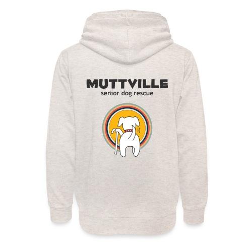 Muttville Adopt Vintage - Unisex Shawl Collar Hoodie