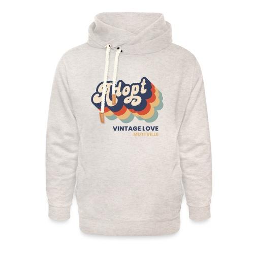 Adopt Vintage Love - Unisex Shawl Collar Hoodie