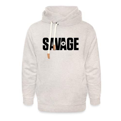 SAVAGE - Unisex Shawl Collar Hoodie