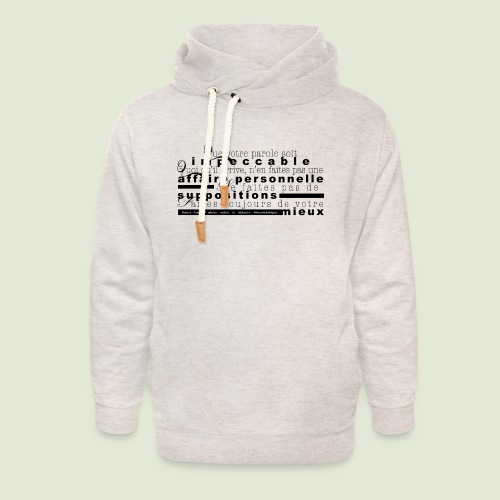 4 Accords Toltèques - Unisex Shawl Collar Hoodie