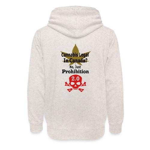 prohibition - Unisex Shawl Collar Hoodie