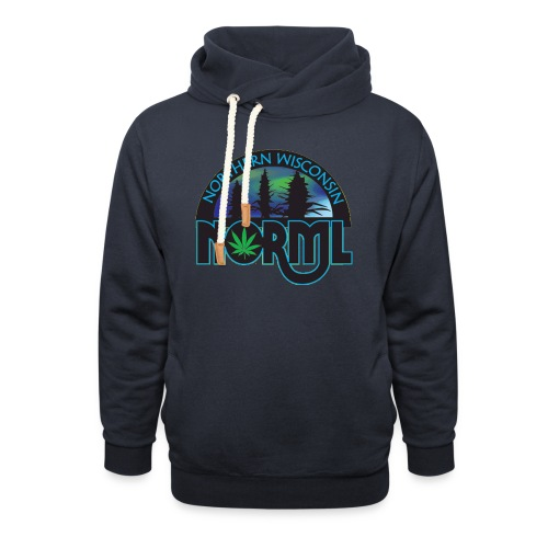 Northern Wisconsin NORML Official Logo - Unisex Shawl Collar Hoodie