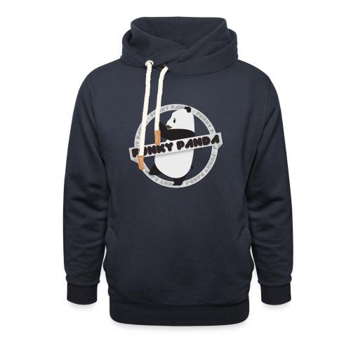 Funky Panda Logo - Unisex Shawl Collar Hoodie