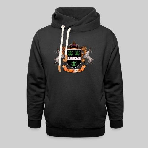 Satanic Heraldry - Coat of Arms - Unisex Shawl Collar Hoodie