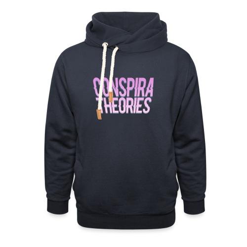 Women's - ConspiraTheories Official T-Shirt - Unisex Shawl Collar Hoodie