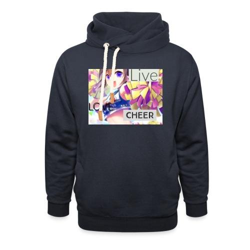 live love cheer - Unisex Shawl Collar Hoodie