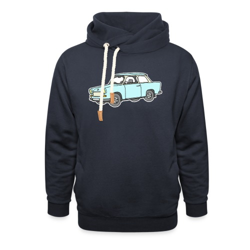 Trabant (lightblue) - Unisex Shawl Collar Hoodie