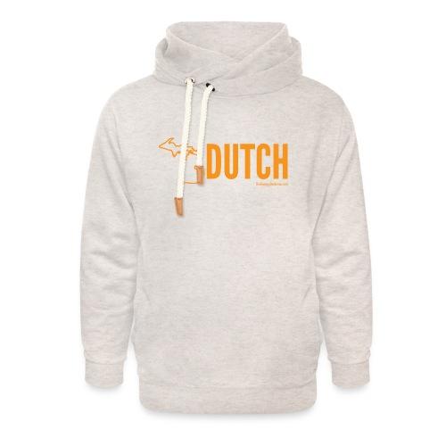 Michigan Dutch (orange) - Unisex Shawl Collar Hoodie
