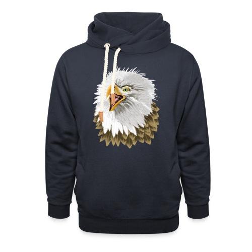 Big, Bold Eagle - Shawl Collar Hoodie