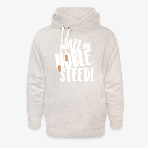 MSS Jazz on Noble Steed - Unisex Shawl Collar Hoodie