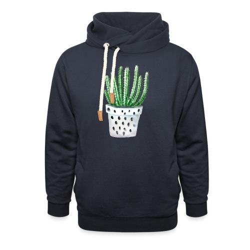 Cactus - Shawl Collar Hoodie