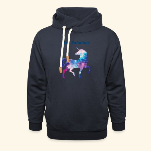 I'm Fabulous Unicorn - Shawl Collar Hoodie