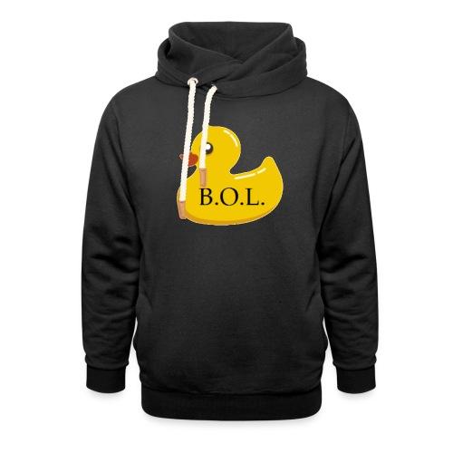 Official B.O.L. Ducky Duck Logo - Shawl Collar Hoodie